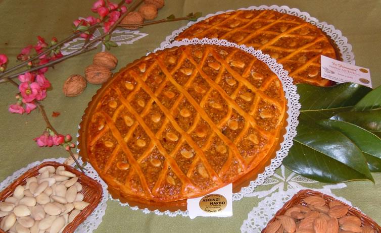 Crostata al Torrone di Sarnano