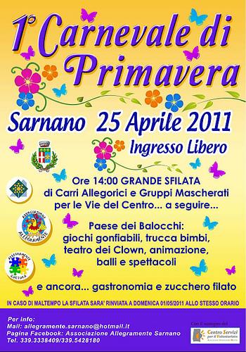 Carnevale di Primavera a Sarnano